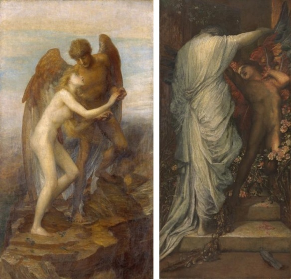 Love and Life c.1884-5 by George Frederic Watts 1817-1904